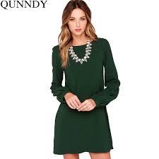 2018 <b>Autumn Dress Plus Size</b> Women Dresses Work Wear Elegant ...