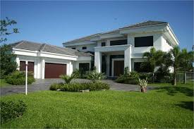 Contemporary Home   Bdrms  Sq Ft   House Plan         Florida Style House Plan     House Plan