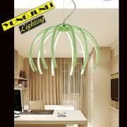 Indoor lighting Color Painting <b>Aluminum modern LED Pendant</b> Lamp