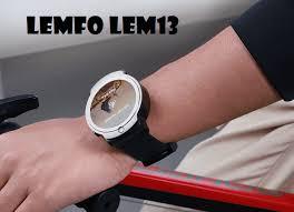 <b>Lemfo LEM13</b> New <b>4G</b> SmartWatch With 360° Rotating 2020