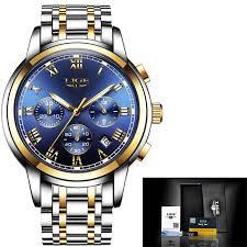 <b>2018 New Watches Men</b> Luxury Brand LIGE Chronograph Men ...