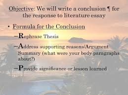 Free Graphic Organizers for Teaching Writing      Literary Essay Writing Template