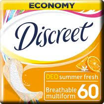 <b>Прокладки Discreet Multiform</b> Deo Summer Fresh гигиенические ...