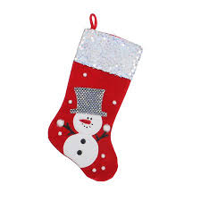 "20.5"" Red and White <b>Snowman</b> Embellished and Embroidered ..."