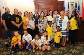 nassau county ny official website mangano hosts pediatric cancer awareness ceremony survivors