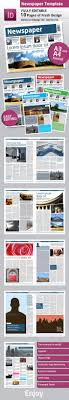 newspaper template a and a format pages by grga atree newspaper template a4 and a3 format 10 pages newsletters print templates