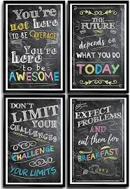 Motivational Posters for Classroom & Office ... - Amazon.com