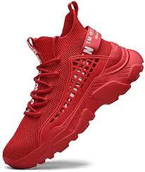 Fushiton <b>Mens</b> Trainers Running Shoes Hi Top <b>Casual</b> Shoes ...