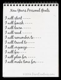 make successful personal and blog goal setting personal goals copy 2014 com