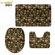 Skull Bathroom Decor Compare Prices On Toilet Wc Carpet Online Shopping Buy Low Price
