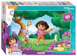 Купить <b>Пазл Step puzzle Никелодеон</b> Даша-путешественница ...