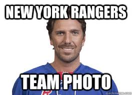 New York Rangers Team Photo - Misc - quickmeme via Relatably.com
