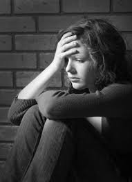 Image result for pics of a depressed person