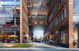 the design of the building will be a blend of industrial past and modern present brooklyn industrial office