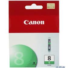 Чернильница <b>Canon CLI</b>-<b>8G</b> зеленый (green) 5845 стр для <b>Pixma</b> ...