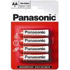 Купить <b>Батарейка</b> солевая <b>PANASONIC</b> R6 (<b>AA</b>) Zinc Carbon 1.5В ...