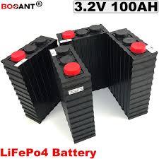 Free Shipping 3.2V 100Ah LiFePO4 Battery <b>pack 12V</b> 24V 36V 48V ...