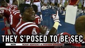WKU linebacker Andrew Jackson provides this season's first meme ... via Relatably.com
