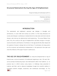 essay on the enlightenment period  essay on the enlightenment period
