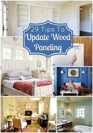 bedroom paneling ideas:  helpful tips on how to update wood paneling if youre sick of that nasty outdated wood paneling this post is for you great ideas tips and tricks