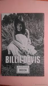 fp foto promocional de billie davis con comprar postales foto promocional de billie davis con discografia en parte trasera decca