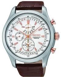 <b>Часы</b> наручные мужские <b>Seiko</b>, <b>SPC129P1</b>, коричневый — купить ...
