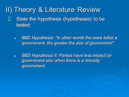 How to write literature review for research paper