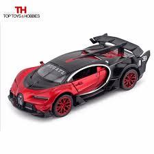 <b>1:32 Diecast</b> Bugatti Veyron GT <b>Alloy Car</b> Model Back Power ...