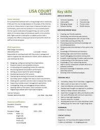 web designer cv sample web design resume example