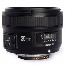 Купить <b>Объектив Yongnuo</b> YN35mm F2.0 <b>Canon</b> в каталоге ...