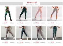 <b>SALSPOR</b> Casula High Waist <b>Yoga Pants Women</b> Cross Belt Push ...