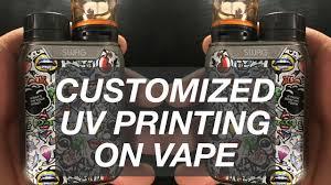 <b>Vape</b> Cover <b>Printing</b> الطباعة على الشيشة الإلكترونية - YouTube