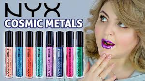 СВОТЧ-ВИДЕО <b>NYX</b> Cosmic Metals Lip Cream / (КОНКУРС ЗАКРЫТ)