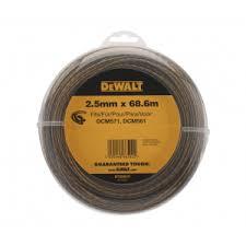 Купить <b>DEWALT DT20652 леска</b>, <b>68.6</b> м, диаметр 2.5 мм. Цена на ...
