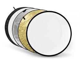 <b>Светоотражатель Fujimi</b> 80cm White Gold Silver Black Diffuser FJ ...