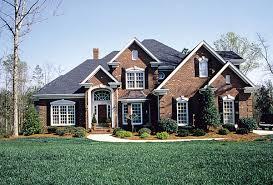 Three Beautiful Colonial House Plans   The House DesignersCarrington house plan