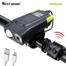Online Shop <b>Bicycle Front</b> Light <b>smart induction</b> LED MTB <b>Bike</b> light ...