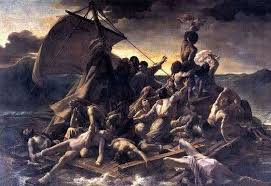 """Description of the painting by <b>Theodore Gericault</b> """"<b>The Raft</b> of ..."""