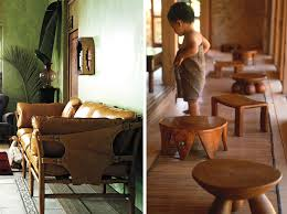 photo credits patrizia sofa via anthropologie jurgen lehl hand carved stools anthropologie style furniture