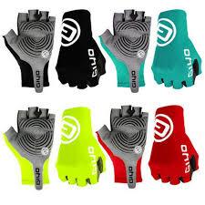 Antiskid <b>Cycling Gloves</b> MTB <b>Bike Half Finger Gloves</b> Short Finger ...