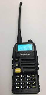 QuanSheng TG-UVR50 VHF/UHF Dual Band Radio ... - Amazon.com