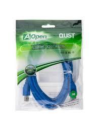Купить <b>кабель</b> USB 3.0 3 м, <b>AOpen</b> / Qust ACU302-<b>3M</b>, синий ...