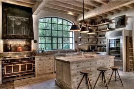 rustic style kitchen white washed rustic kitchen country ideas