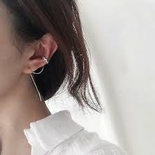 <b>1pc 925 Sterling</b> Silver Ear Cuff Threader Chain Line Thread Earring ...