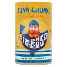 The <b>Nice Fisherman</b> Tuna Chunks in Sunflower Oil 4 x 145g (580g ...