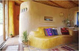 Modern Strawbale Interior