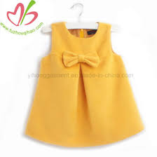 <b>New Style Butterfly Knot</b> Baby Girl Summer Dress - China Dress and ...