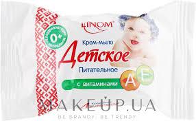 """Linom - Крем-<b>мыло</b> """"<b>Детское</b>"""" <b>питательное</b> с витаминами А и Е ..."""