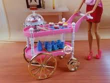 <b>Игровой набор</b> для девочек, розовый пирог, машинка для чая ...