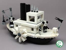 Mickey Mouse makes his 1928 debut in LEGO Ideas 21317 ...